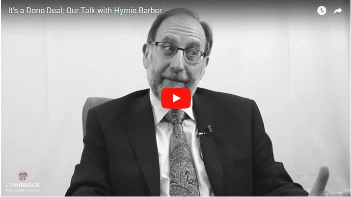 It's a Done Deal: Our Talk With Hymie Barber