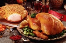 Order your turkey and ham at Hall Farm Butchers