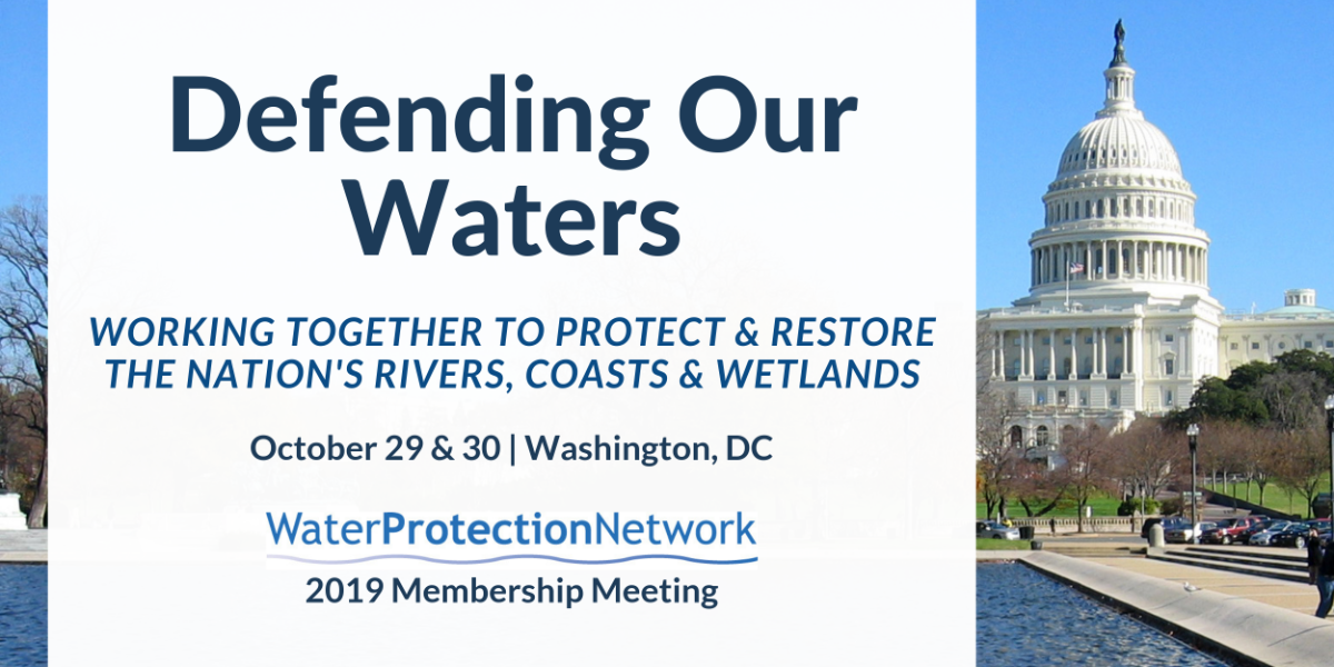 Click here to register for Defending Our Waters!