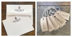 Letterpress Note & Gift Tags