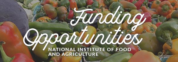 **USDA NIFA Funding Opportunities