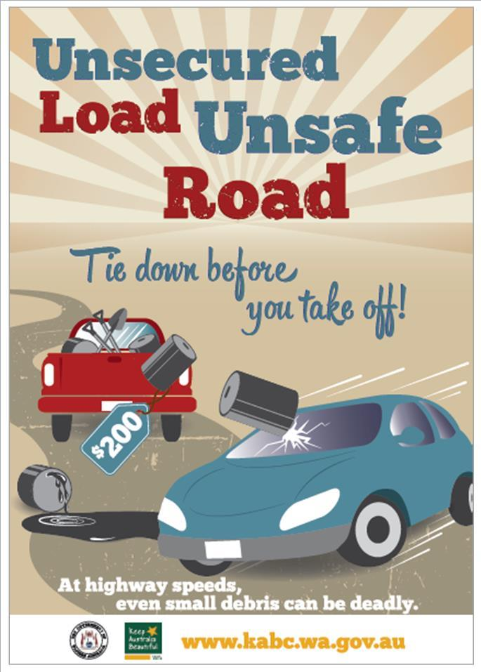 Unsecured Loads poster