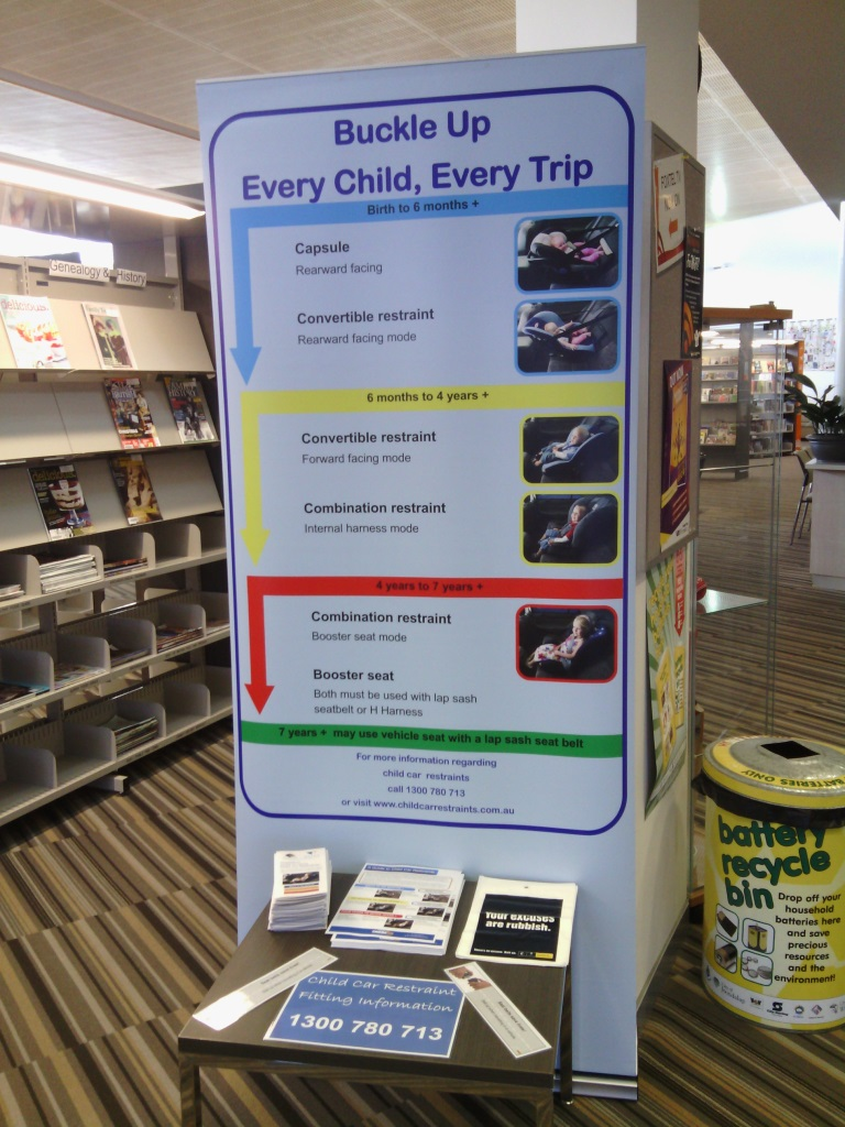 City of Wanneroo library display Oct 2014