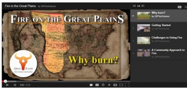 Great Plains Fire Science Exchange YouTube channel