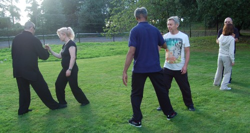 Tai Chi Residential at Belsey Bridge, 2015