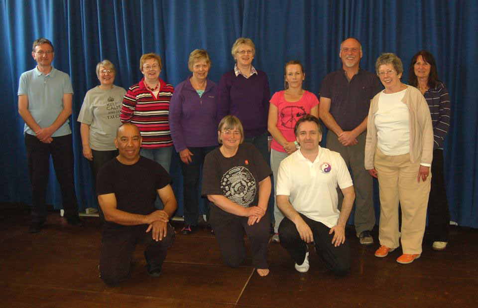 Group of Tai Chi students