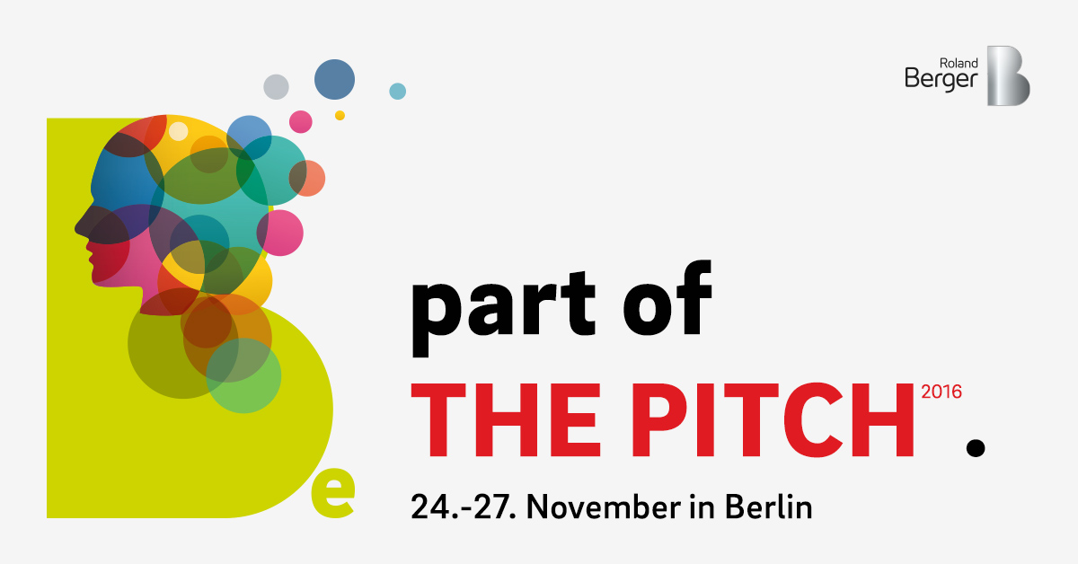 The Pitch 2016 Roland Berger