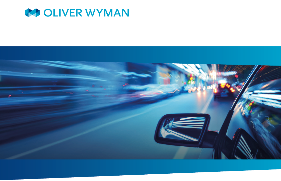 The Future of Cars - Oliver Wyman