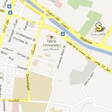 آدرس مجتمع رفاهی صدرا در نقشه گوگل