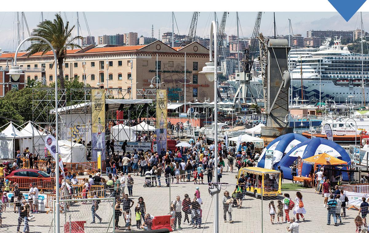 Festa dell                                                      sport 2019 al Porto                                                      Antico