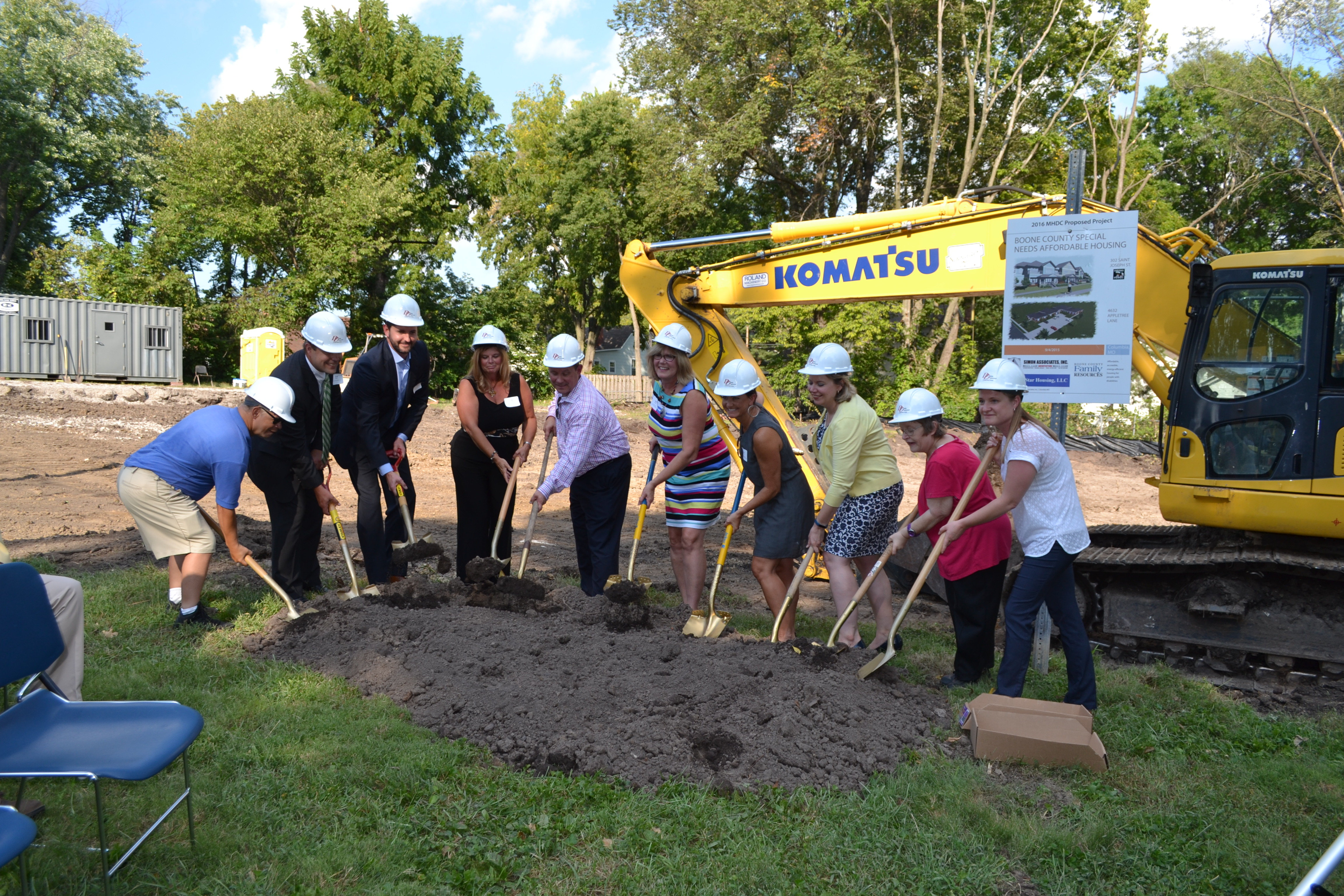 Boone County Special Needs Affordable Housing Breaks Ground