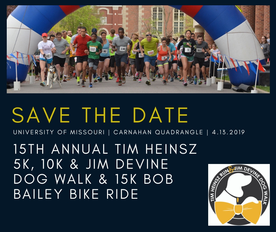 Save the date for this annual run/walk at Mizzou.