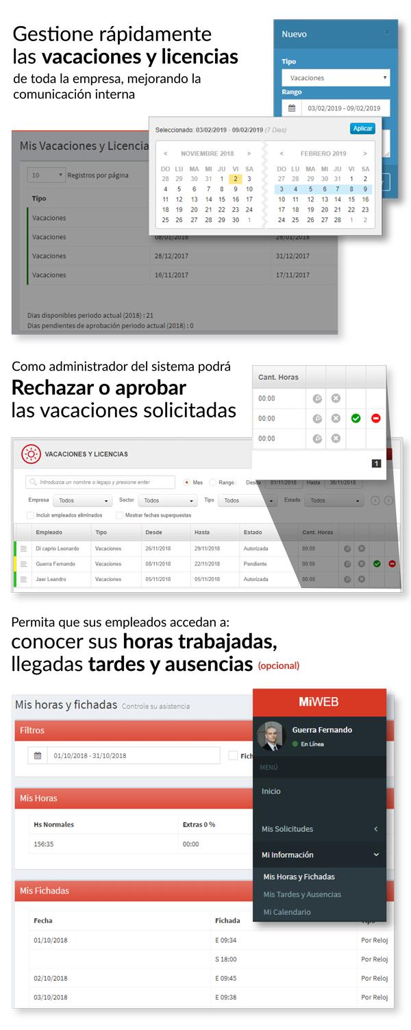 Capturas y explicaciones de Portal Lenox Mi Web