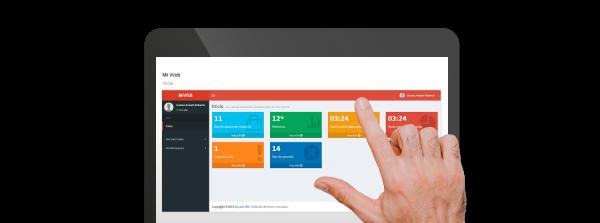 Captura de Portal Lenox Mi Web