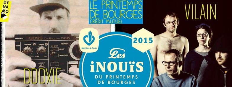 CONCERTS D'AUDITIONS REGIONALES DES INOUIS DU PRINTEMPS DE BOURGES