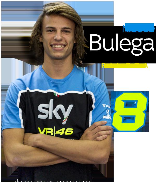 NICOLÒ BULEGA - Pilota Sky Racing Team VR46