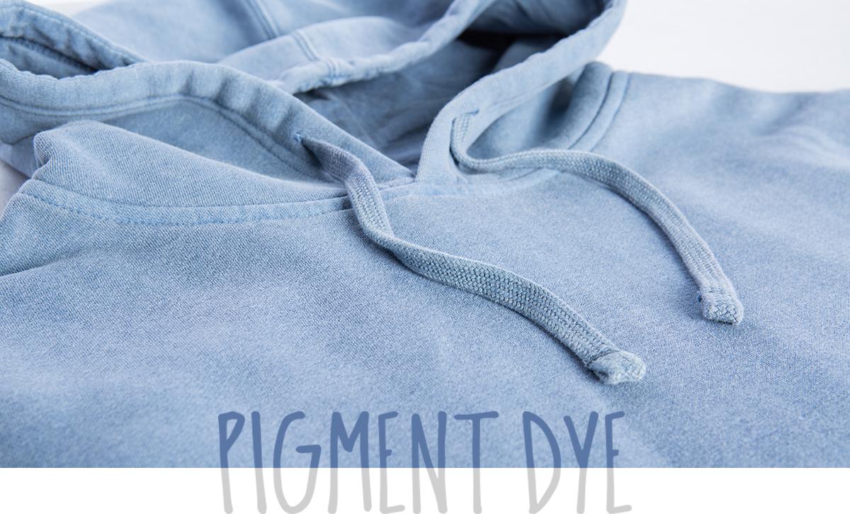 Unisex Pigment Dyed