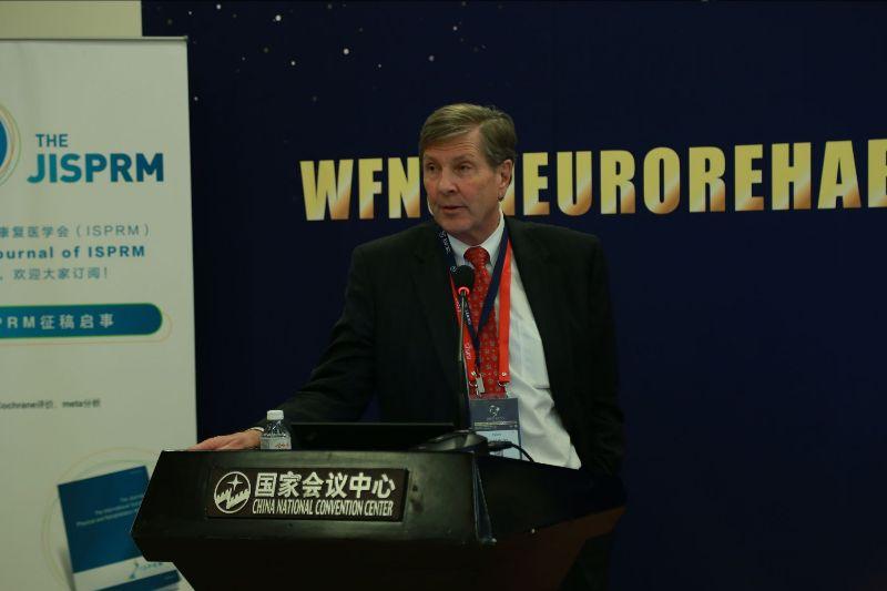 Prof. David Burke at the ISPRM-WFNS 2019