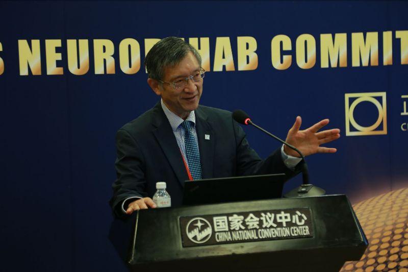 Prof. Jianan Li at the ISPRM-WFNS 2019