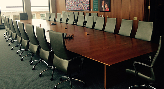 Seidman Boardroom. Photo by Steven Depolo.
