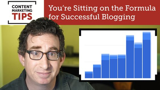 You're Sitting on the Formula for Successful Blogging