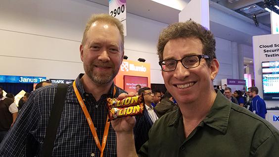 Dwayne Melancon & David Spark at RSA2017