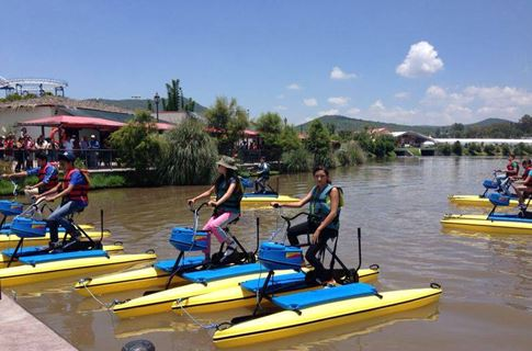 Hydrobikes in Mexico