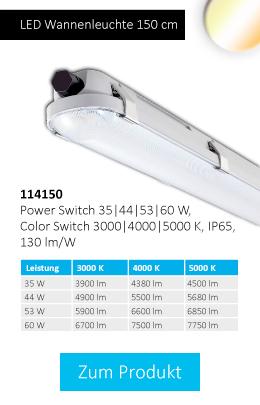 LED Wannenleuchte 150 cm