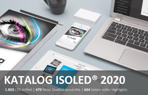 Katalog ISOLED2020