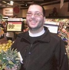 Sam at the grocery store
