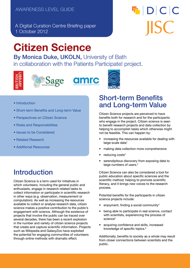 cover of the briefing paper