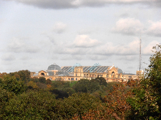 View over Ally Pally