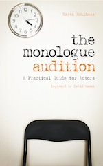 The Monologue Audition cover