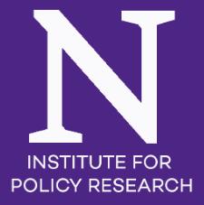 Northwestern IPR logo