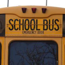 Back of schoolbus