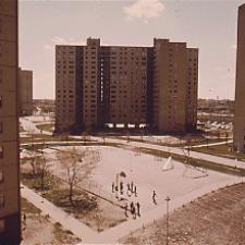 Public housing apartment complex