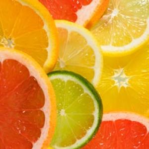 Sage citrus candle fragrance
