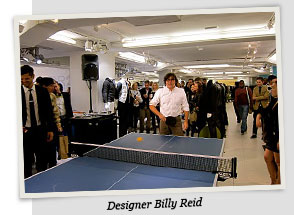 VIP ping pong tournament at Bloomingdale's
