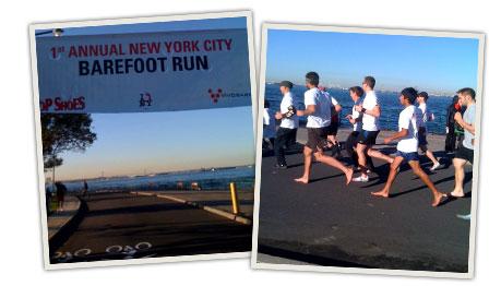 1st Annual New York City Barefoot Run