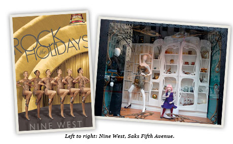 Nine West and Saks Fifth Avenue