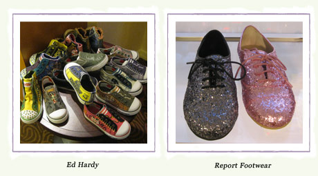 Ed Hardy and Report Footwear