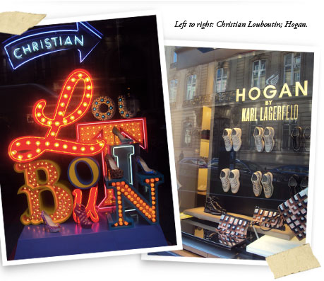 Paris - Christian Louboutin and Hogan by Karl Lagerfield