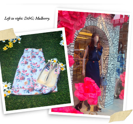 Designer Boutiques - D&G and Mulberry