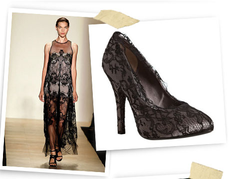 Lace Embrace - BCBG Max Azria and Dolce & Gabbana