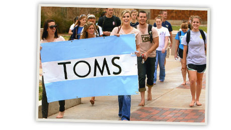 TOMS One Day Without Shoes - April 5th, 2011
