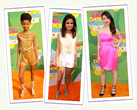 Willow Smith, Selena Gomez and Miranda Cosgrove