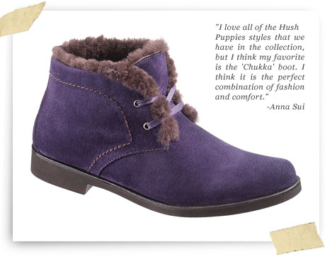 Anna Sui for Hush Puppies