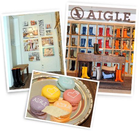 Aigle pop up store