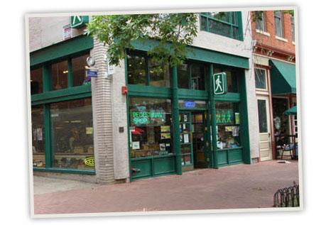 Pedestrian Shop store front
