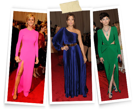 Brooklyn Decker in Michael Kors, Eva Mendes, Ginnifer Goodwin wearing Aperlai stilettos.